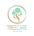 Tree care logotype Stock vector image