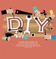 DIY Concept EPS10 vector image vector image