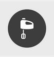 mixer icon simple vector image