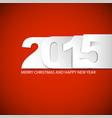 original new year 2015 card vector image vector image