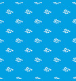 sakura pattern seamless blue vector image vector image