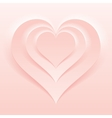 Soft and Light Pink Color Valentine Day Backdrop vector image vector image