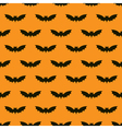 Bats seamless background vector image