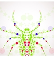 Abstract spider cartoon vector image