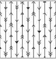 arrows background - hand drawn design vector image vector image