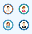 avatars people vector image