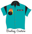 Bowling Couture vector image vector image