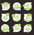 collection of sale discount and promotion banners vector image vector image