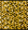 gold square sparkle texture seamless pattern vector image vector image