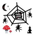 Happy Halloween Concept Cartoon vector image vector image
