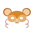 Monkey Animal Head Mask Kids Carnival Disguise vector image vector image