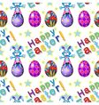 Seamless design for Easter Sunday vector image