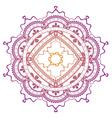 Lace ornament vector image