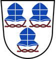 coat of arms of landshut is a town in bavaria of vector image vector image