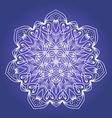 Ethnic Fractal Meditation Mandala vector image vector image