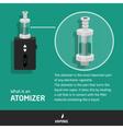 infografic vaping vector image