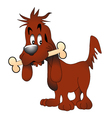 Pet Dog vector image vector image