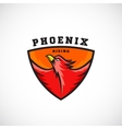 Phoenix Rising Abstract Logo Template vector image vector image