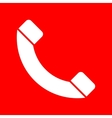 Phone sign vector image vector image