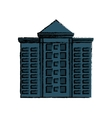 Urban city tower vector image