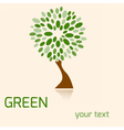 greentree vector image