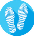 Shoe Prints Icon vector image