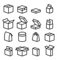 box icons vector image