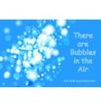 Bubbles Bokeh vector image vector image