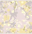 grey green yellow beige camouflage seamless vector image vector image