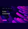 purple gradient geometric background flat layout vector image vector image