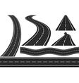 Roads vector image vector image