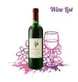 Wine Sketch Concept vector image