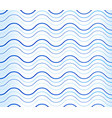 abstract background pattern with wavy waving blue vector image