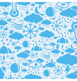 Background weather vector image vector image