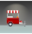 Hot dog store vector image vector image