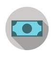 money banknote icon vector image vector image