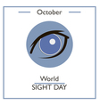 World Sight Day vector image vector image