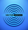 Abstract background with blue ripple waves vector image vector image