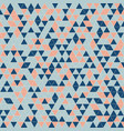 abstract geometric triangle pattern background vector image vector image