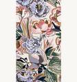colorful design flower art painting decoration