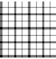 flower of scotland tartan black white pixel vector image vector image