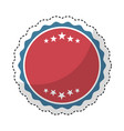 frame seal isolated icon vector image vector image