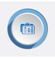 Liquid in hand luggage cosmetic bag icon Baggage vector image vector image