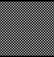 Monochrome repeating heart pattern background vector image