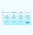racism in society onboarding template vector image