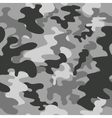 Seamless square camouflage pattern grey vector image