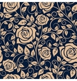 Blooming roses floral seamless pattern