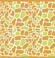 craquelure seamless pattern cracks broken glass vector image