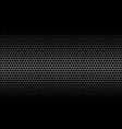dark honeycomb metallic carbon texture vector image