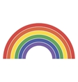 Rainbow icon lgbt community sign vector image vector image